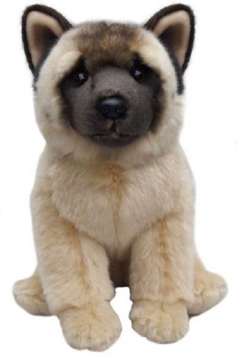 "Akita 12""  toy dog, gift wrapped, not gift wrapped with or without engraved tag"